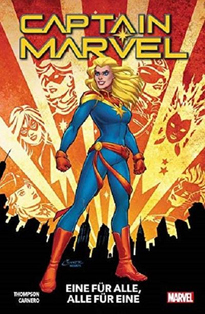 Captain Marvel 1: Eine für alle und alle für Eine - Das Cover