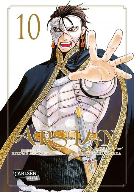 The Heroic Legend of Arslan 10 - Das Cover