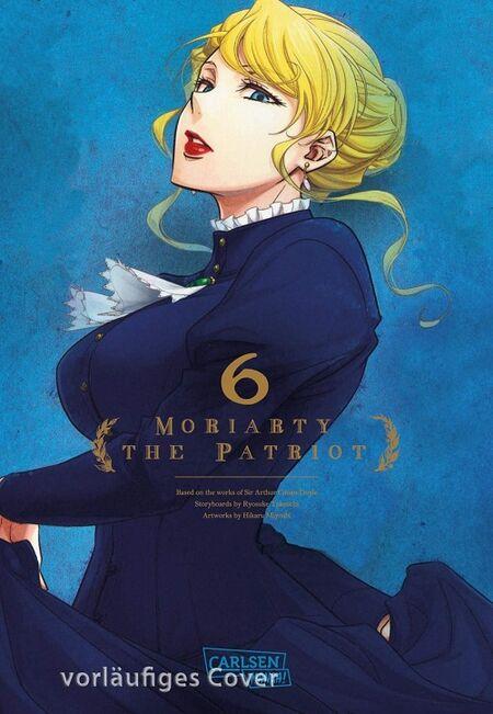 Moriarty the Patriot 5 - Das Cover