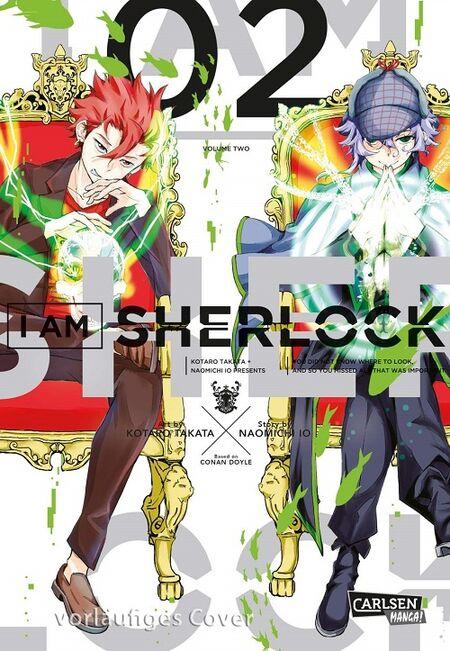 I am Sherlock 2 - Das Cover