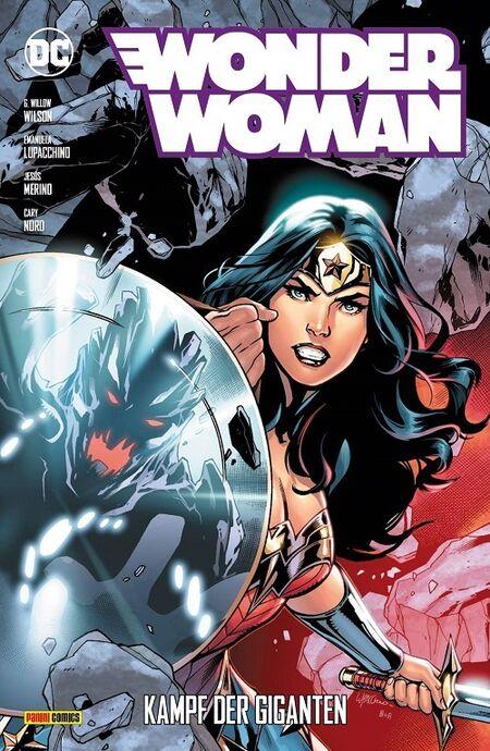 Wonder Woman 10: Kampf der Giganten - Das Cover