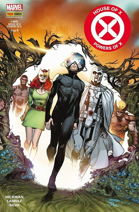 House of X & Powers of X 1 - Das Cover