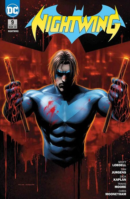 Nightwing 9: Team Nightwing - Das Cover