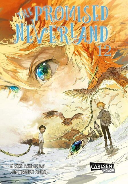 The Promised Neverland 12 - Das Cover