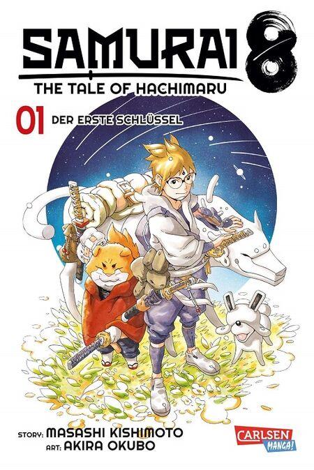 Samurai 8 – The Tale of Hachimaru 1 - Das Cover