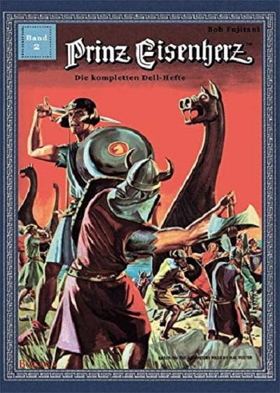 Prinz Eisenherz – Die kompletten Dell-Hefte 2 - Das Cover