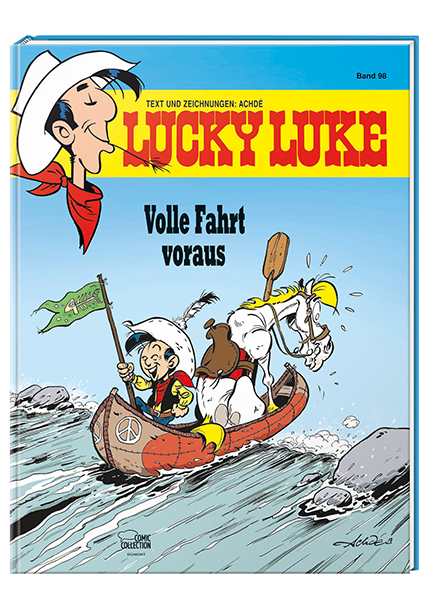 Lucky Luke 98 - Das Cover