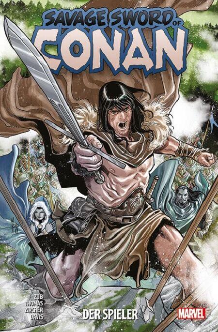 Savage Sword of Conan: Der Spieler  - Das Cover