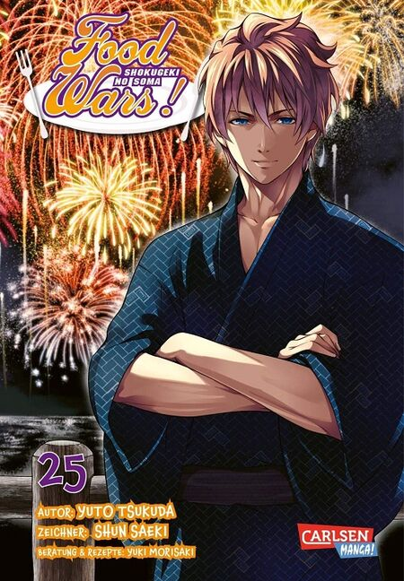 Food Wars! - Shokugeki no Soma 25 - Das Cover