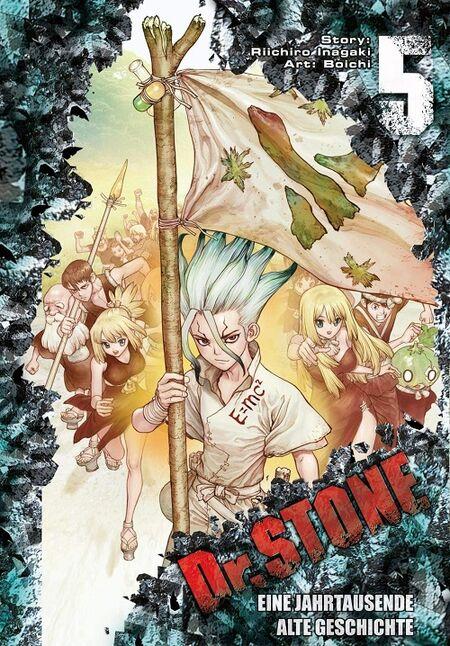 Dr. Stone 5 - Das Cover