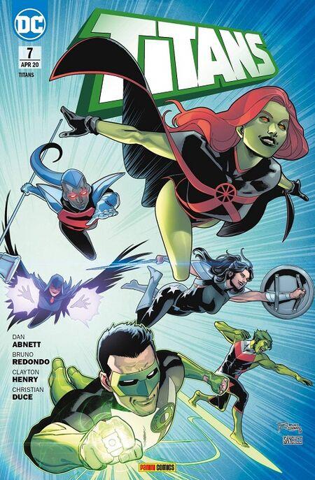 Titans 7: Kampf um Unerde  - Das Cover