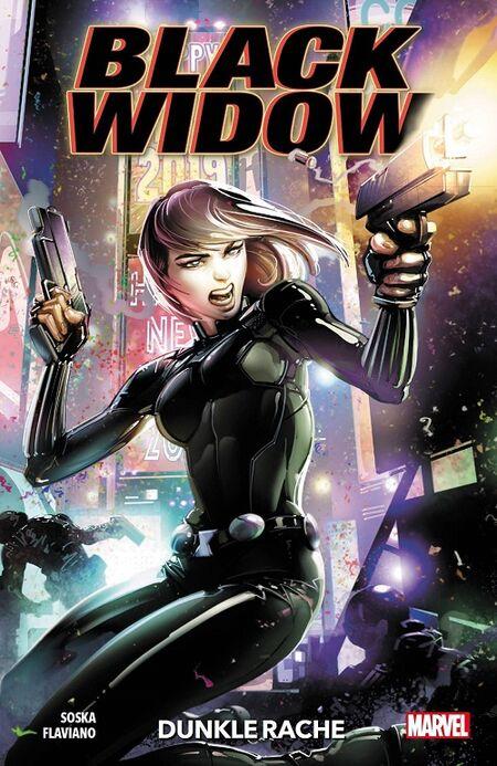 Black Widow: Dunkle Rache - Das Cover