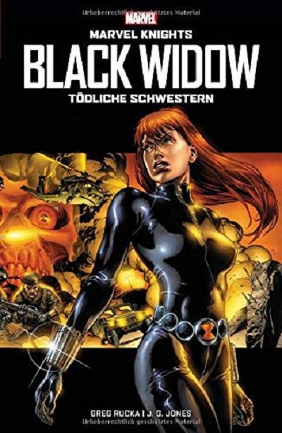 Marvel Knights : Black Widow - Tödliche Schwestern - Das Cover