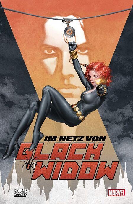 Im Netz von Black Widow - Das Cover