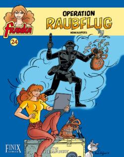 Franka 24: Operation Raubflug - Das Cover