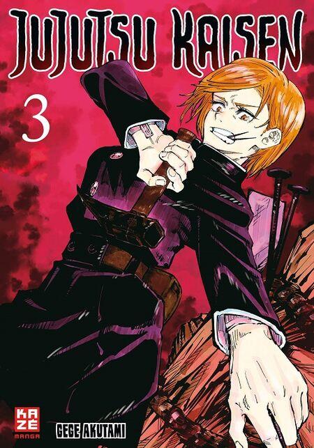 Jujutsu Kaisen 3 - Das Cover