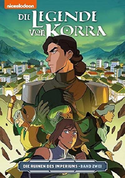 Die Legende von Korra 5: Die Ruinen des Imperiums 2 - Das Cover