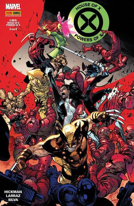House of X & Powers of X 3 - Das Cover