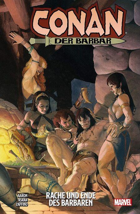 Conan der Barbar 2: Rache und Ende des Barbaren - Das Cover
