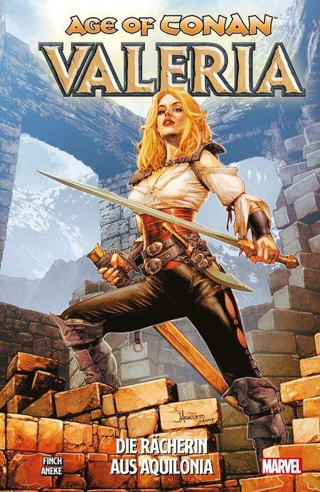Age of Conan 2: Valeria – Die Rächerin aus Aquilonia - Das Cover
