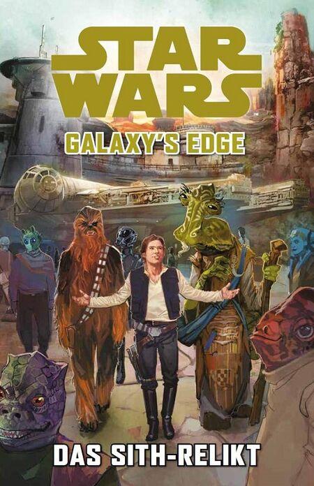 Star Wars – Galaxy's Edge: Das Sith-Relikt - Das Cover
