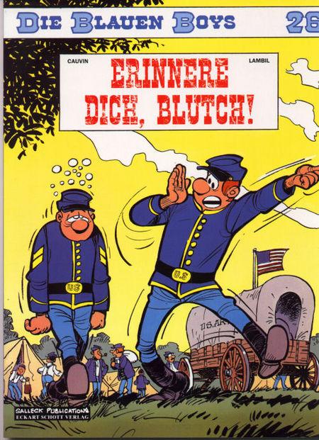 Die blauen Boys 26 - Das Cover
