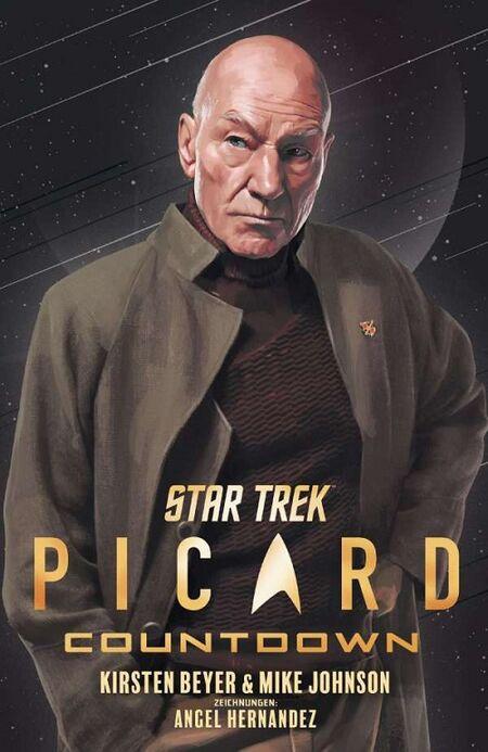 Star Trek-Picard: Countdown - Das Cover