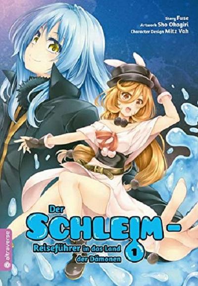 Der Schleim-Reiseführer in das Land der Dämonen 1 - Das Cover