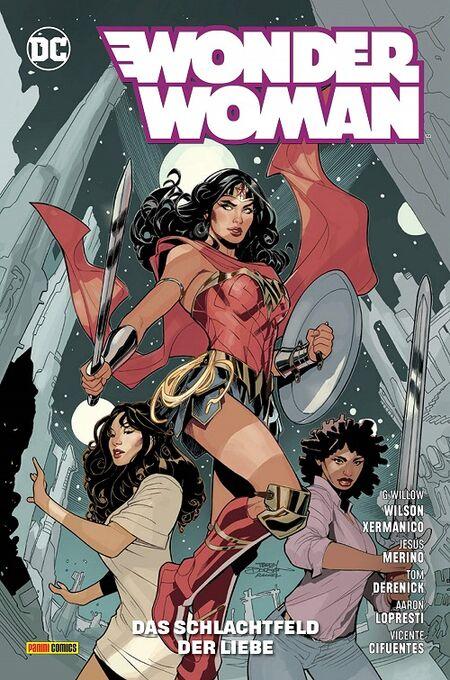 Wonder Woman 11: Das Schlachtfeld der Liebe - Das Cover