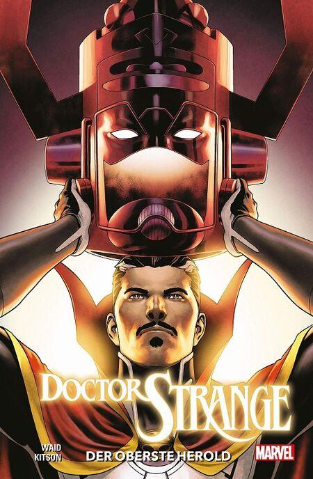 Doctor Strange 3: Der oberste Herold  - Das Cover