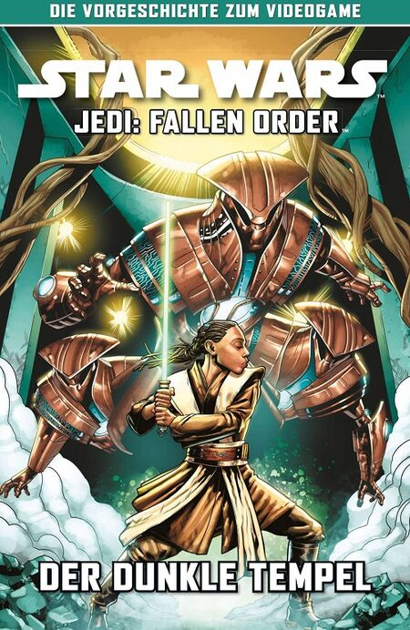 Star Wars Jedi - Fallen Order: Der dunkle Tempel - Das Cover