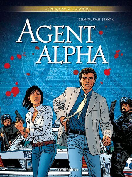 Agent Alpha – Gesamtausgabe Band 4 - Das Cover