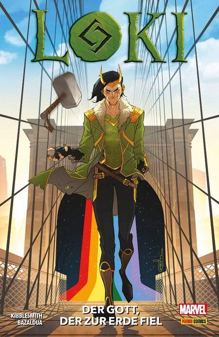 Loki – Der Gott der zur Erde fiel  - Das Cover