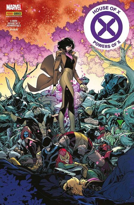 House of X & Powers of X 4 - Das Cover