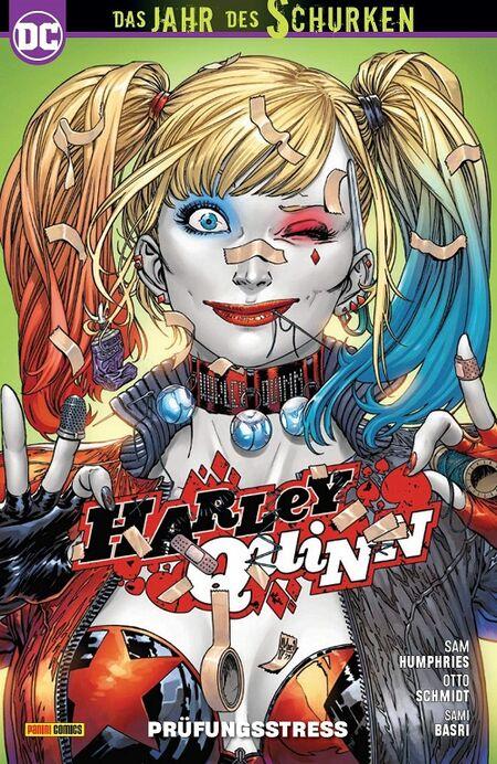 Harley Quinn 11: Prüfungsstress - Das Cover