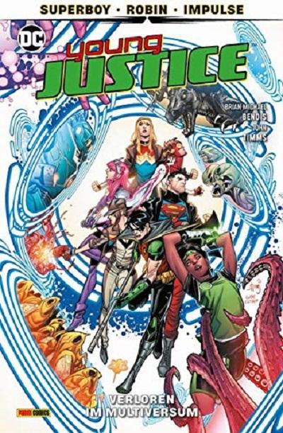 Young Justice 2: Verloren im Multiversum  - Das Cover