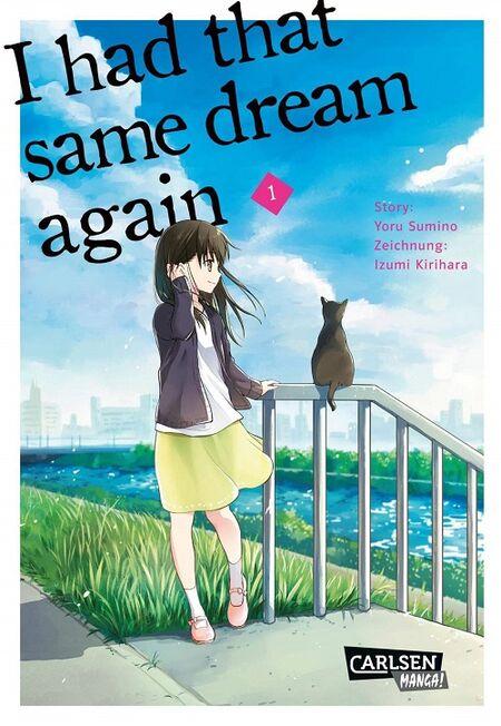 I had that same dream again 1 - Das Cover