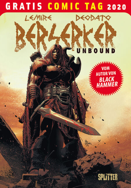 Berserker Unbound – Gratis Comic Tag 2020  - Das Cover