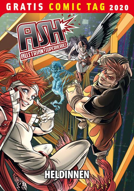Austrian Superheroes: Heldinnen – Gratis Comic Tag 2020  - Das Cover