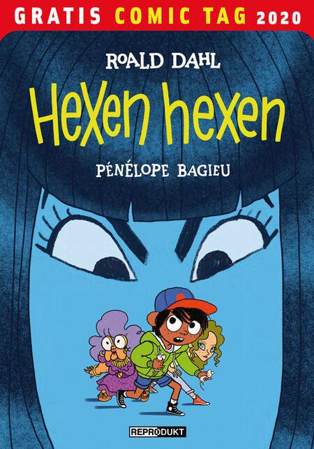 Hexen hexen – Gratis Comic Tag 2020 - Das Cover