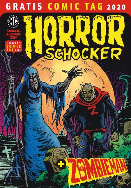 Horrorschocker + Zombieman – Gratis Comic Tag 2020  - Das Cover