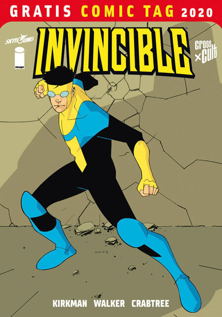 Invincible – Gratis Comic Tag 2020  - Das Cover