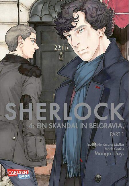 Sherlock 4: Ein Skandal in Belgravia – Teil 1  - Das Cover