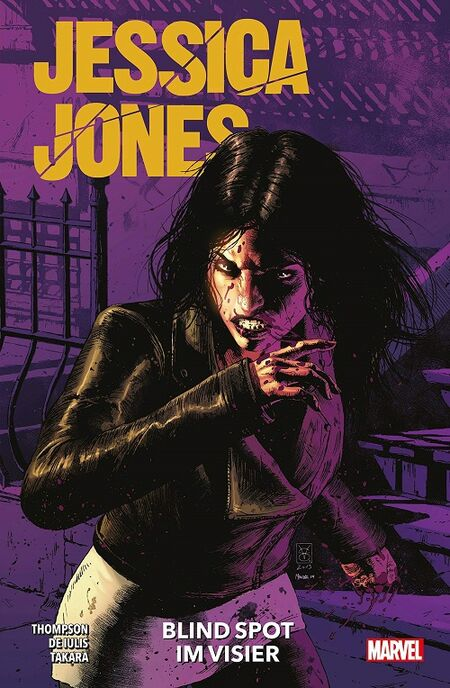 Jessica Jones: Blind Spot – Im Visier - Das Cover