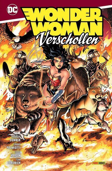 Wonder Woman: Verschollen  - Das Cover