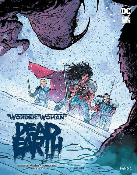 Wonder Woman: Dead Earth 2 - Das Cover