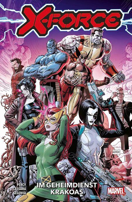 X-Force 1: Im Geheimdienst Krakoas - Das Cover