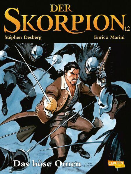 Der Skorpion – 12 - Das Cover