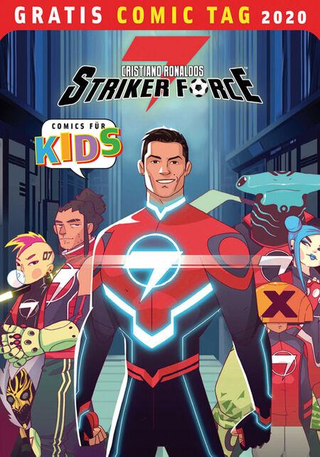 Christiano Ronaldos Strikerforce - Gratis Comic Tag 2020 - Das Cover