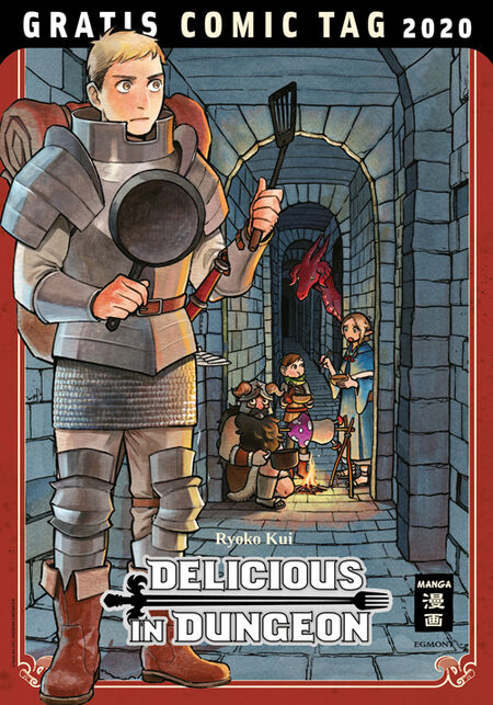 Delicious in Dungeon – Gratis Comic Tag 2020 - Das Cover